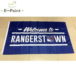 Wholesale Flag of New York Rangers USA National Hockey League Flag ft ft Decorations for Home Flag Banner GiftsNew York Rangers