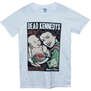 Wholesale Dead Kennedys T Shirt Punk Rock Biafra Lard Graphic Tee Unisex Summer Short Sleeve Man Clothing Concert T Shirts