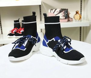 New fashion womens designer socks shoes for mans wool high top triples best quality luxury sneakers genuine leather