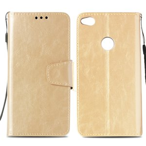 Wholesale Leather Wallet Case For Huawei Honor Lite Case Cover for Huawei P8 Lite Flip Cover Kickstand PU Cases with Card Pocket