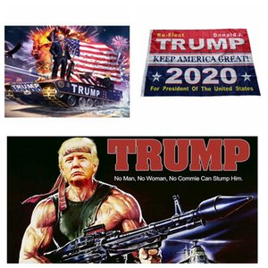 Trump 2020 Flag 90*150cm Donald Trump Keep America Great Digital Print USA Party Banner Flags 3 Styles LJJO7084