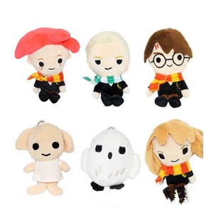 Wholesale Harry Potter Plush Toy Singing Stuffed Animated Doll Gift Elephant Stuffed Animals Plush Toys For kids For Decorate EEA423