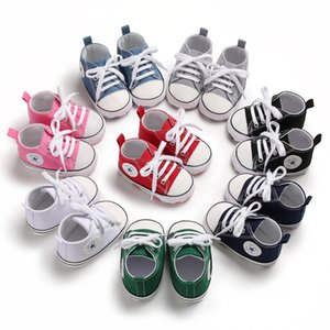 Wholesale Kids Baby Sports Shoes Boy Girl First Walkers Sneakers Baby Infant Soft Bottom walker Shoes pairs