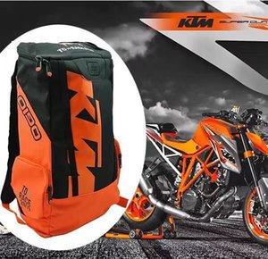 Wholesale Ktm backpack motorcycle ride backpack equipment bag fashion motorcycle outdoor backpack motocross riding racing bag hot selling