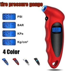 Wholesale Car Motorcycle Bike Mini Tire Gauge Tire Diagnostic LCD Display Digital Pressure Tool Gauge Pressure Monitor