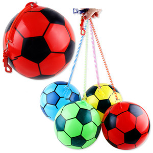 Wholesale New children's inflatable toys children practice football thickening chain football factory price wholesale foreign hot sale