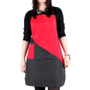 Wholesale Two Color Overalls Man Woman Hair Salon Use Technician Clothes Hairdressing Haircut Black Red Apron Hot Selling bk L1