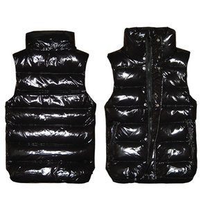 Wholesale 2019 High quality French Fashion New Men and women winter down vest Classic feather weskit jackets womens casual vests coat