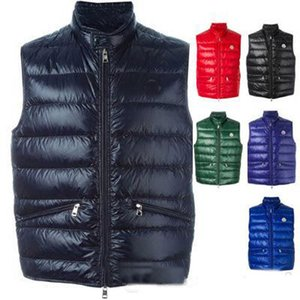 Wholesale 2019 New arrival Autumn Winter brand M men's vest down Coats Warm Plus Man Down and parka anorak vest gillets Winter warm jacket