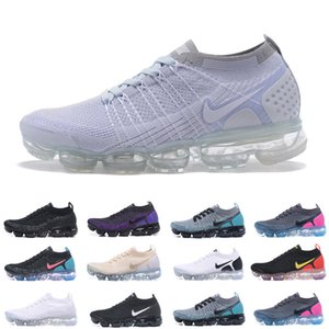 Wholesale 2018 fashion brand Vapors 2.0 Men Women Running Shoes Fly 2 Reverse Orca breathable sport training jogging Walking Runner Sneakers EUR 6-45