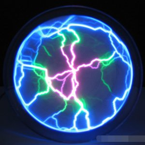 Mini Pocket Plasma Disk Light Sensor Plate Home Disco Party Club Decor on Sale