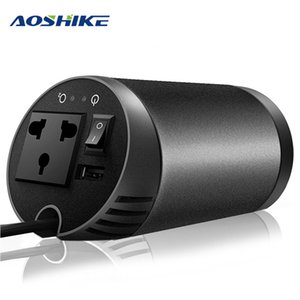 Wholesale AOSHIKE Car Inverter V to V Air Purifier Auto Power Inverter Voltage Converter Regulator USB Car Charger Power Supply