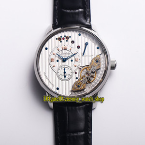 ingrosso tz-TZ Glashütte Original PanoInverse White Power Reserve caso quadrante automatico Mens Watch Acciaio L orologi di marca in pelle