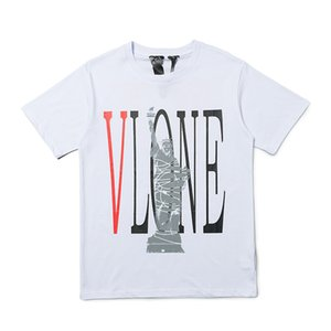 Vlone Mens Designer T Shirt New Arrival Men Women High Quality Casual Short Sleeve Mens Hip Hop Tee 2 Colors