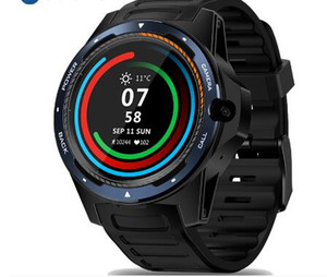 THOR 5 Dual Chipset 4G Smart Watch LTE Global Bands 8MP Front Camera 2G+16G ROM WIFI GPS 1.39' AMOLED Smartwatch Phone