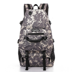 Wholesale Tactical Backpack Mlitary Camoflage Outdoor Sports Hiking Camping Trekking Rucksack Hunting Bag Handbag Army Travel Back pack T191104