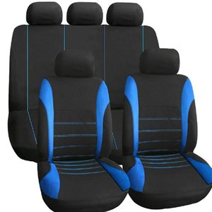 Wholesale GNUPME Car Seat Covers Full Set Automobile Seat Protection Cover Vehicle Seat Covers Universal Car Accessories Car-Styling Black