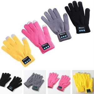 Hot sale New pattern Wireless Bluetooth Glove Three Fingers Touch Screen Keep Warm Mobile Phone Hands-free Intelligence Glove T7C076