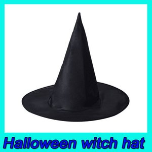 2019 Hot Halloween Products Child Adult Black Oxford Cloth Potter Sorcerer Witch Hat Sorcerer Hat Free Shipping DHL