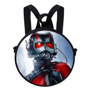 Wholesale Hot Sale Printed Round Backpack For Boys Girls Ant Man Bag For Kindergarten Preschool Baby Birthday Gifts