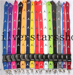 Wholesale Factory sale New sport Clothes logo Lanyard ID Badge Keychain Holder chain iPod Camera Neck Strap Detachable Multicolor