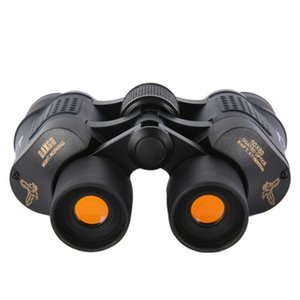 Magnification 60 x 60 Outdoor Coated Optics Day and Night Vision Working Optical Telescope Binocular with Eye Scale Reading
