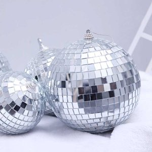 Christmas Decorations Christams Balls New Year Decoration Mirror Balls Christmas Decor Xmas Ornaments 1 6 12PCS on Sale
