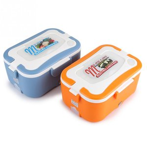 12V 24V 1.5L Portable Electric Heating Lunch Box Food-Grade Food Container Food Warmer For Kids Dinnerware Sets
