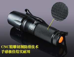 Wholesale UltraFire Zoom Flashlight T6 L2 rechargeable mini outdoor waterproof long range riding