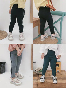 Wholesale Girl s modern and retro casual pants with ankle pants New leggings baby look amazing at a glance type version of tough wide leg children s p