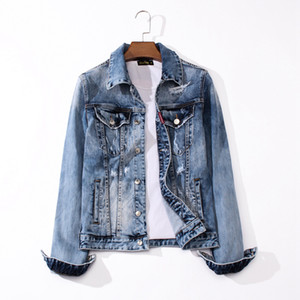 19AW new designer luxury jeans Western jeans jacket hot brand designer hot men's wear designer jeans J1