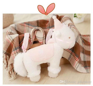 Wholesale Unicorn Shoulder Bag Stuffed Animals Plush Toys Figure Christmas Gifts Toys Birthday Gifts Toys New Arrvial Hot Sale