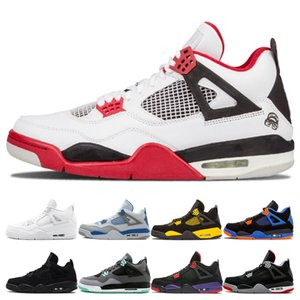 Wholesale Best Quality Mens Basketball Shoes s Fire Red Black Cat White Cement CAVS Designer Thunder Green Glow Pure Money Sneakers Sport Shoes