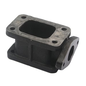 Wholesale wastegate flange resale online - T3 To T3 Cast mm Iron Wastegate Flange Manifold Turbo Charge Adapter