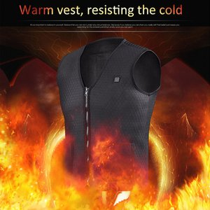 Wholesale New Usb Heater Hunting Vest Heated Jacket Heating Winter Clothes Men Thermal Outdoor Sleeveless Vest Hiking Climbing Fishing