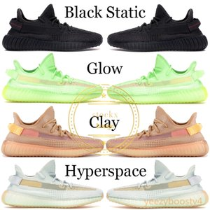 Wholesale 2019 Black Reflective Kanye West Men Designer Shoes Mens Womens Cream White True Form Sports Shoes Running Sneaker With Box