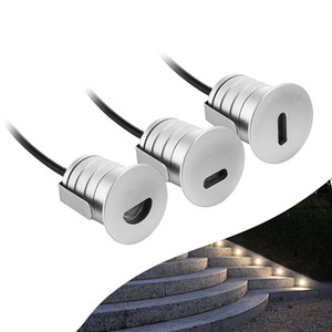Wholesale recessed outdoor lighting for sale - Group buy DC12V W IP67 LED Recessed Household Stair Lights led Wall Sconce Lighting Aluminum Outdoor Indoor In Step Lamp Stairway Lamps