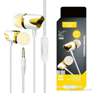 New for Samsung S9 S8 Plus Note 8 9 cell phone Earphones Headphones stereo super bass Headset Handsfree for huawei