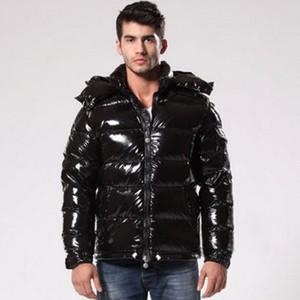 a837c602c39 Mens Designer Jackets Winter Hoodies Duck Down Luxury Jacket Coat Thicken  Warm Black Zipper Pockets MAYA Fashion Casual Brand Doudoune Homme