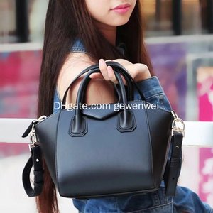 Real cowhide women's bag fashion leisure leather postman bag high quality designer luxury large capacity handbag on Sale
