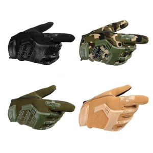 Wholesale Hot Seal Tactics Full Finger Super Wear-resistant Gloves Men's Fighting Training Cycling Specials Forces Non-slip Gloves