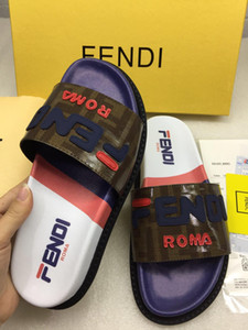 Wholesale Man Woman Slippers Sandals Designer Best Quality Slides Luxury Top Brand Animal Design Huaraches Flip Flops Loafers Casual shoes EU