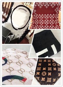 Wholesale 5 Styles Soft Orange Black Red White Throw Fleece Blanket x200cm C S style for Travel Home Office Nap Sleep Blanket Flannel Cloth