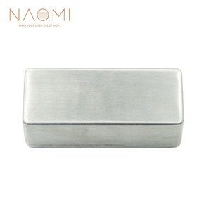 Wholesale pickup parts for sale - Group buy NAOMI Electric Guitar Humbucker Pickup Cover No Holes Fits For Guitar Pickups Guitar Parts Accessories New