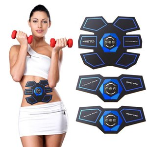Wholesale Abdominal Muscle Training Stimulator Gear Body Slimming Abs Fit Toning Belt Smart Wireless Exercise Trainer Portable Home