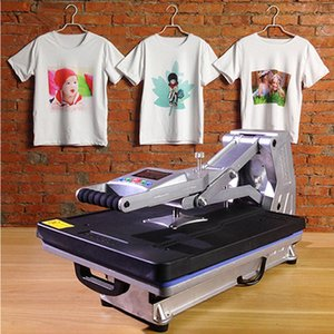 Wholesale ST A x50CM Hydraulic Sublimation Printer Heat Press Machine T shirt Printing Machine Phone Case Bag Puzzle Rock Glass