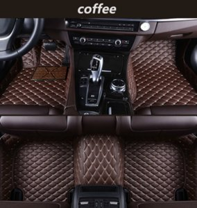 Wholesale Mercedes-Benz E-Class convertible 2010-2017 car mat luxury surrounded by waterproof leather wear-resistant green car mat free shipping