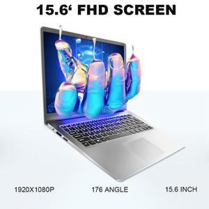 15,6 pulgadas portátiles de juegos con 8G RAM DDR4 1TB 512G 256G 128G SSD portátil Ultrabook ordenador portátil intel j3455 de cuatro núcleo