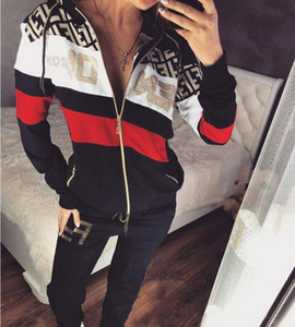 High Quality Brands printed Clothing Hoodie Sweatshirts Women 2 Pieces Set Outfit Spring Autumn Casual Clothes Suit