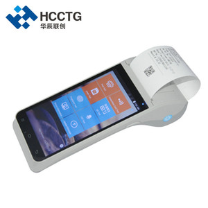 Wholesale 5.5 Inch Smart All in One Mobile 4G WiFi Wireless Touch Screen Handheld NFC Android POS Terminal HCC-Z91